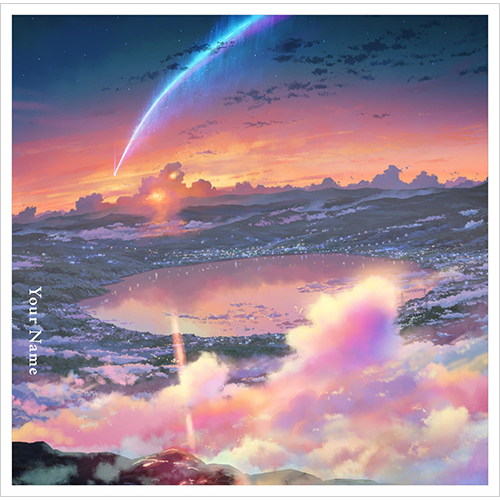 RADWIMPS / 君の名は。English edition【CD MAXI】