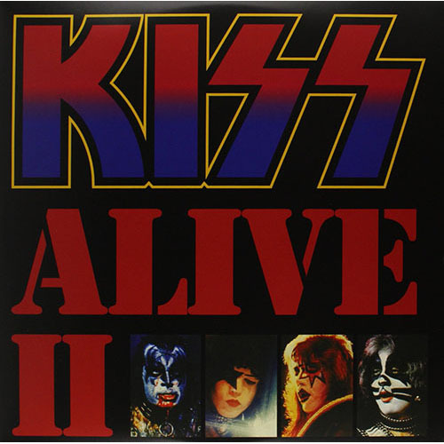KISS / Alive II【2LP】【LIMITED】【輸入盤】【アナログ】