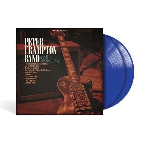 Peter Frampton Band / All Blues【輸入盤】【2LP / Translucent Blue Vinyl】【アナログ】