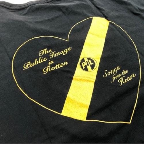 パブリック・イメージ・リミテッド / PiL Heart Logo Tee (T-Shirts / Black)