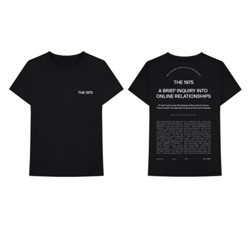 THE 1975 / Welcome Welcome Tee (T-Shirts / Black)【S/M/L/XL】