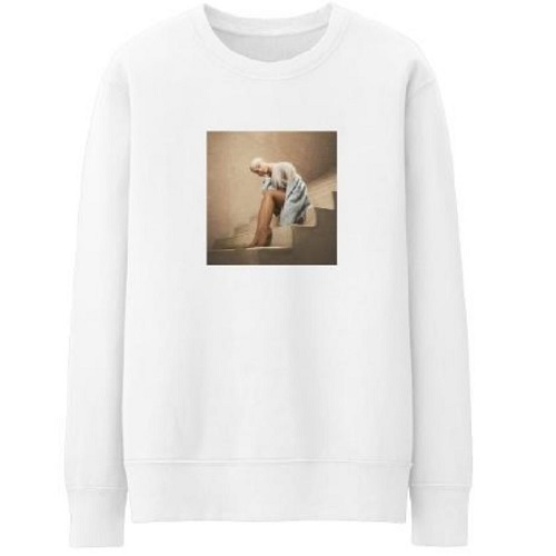 アリアナ・グランデ / On A Stairway Crewneck Sweat Shirt (Crewneck Sweat Shirt / White)