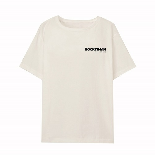 エルトン・ジョン / Rocketman The Movie Logo S/S Tee (T-shirt / White)