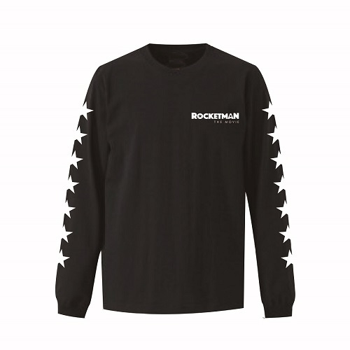 エルトン・ジョン / Rocketman The Movie Logo L/S Tee (T-shirt / Black)