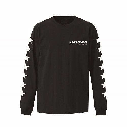 エルトン・ジョン / Rocketman The Movie Logo L/S Tee (T-shirt / Black)