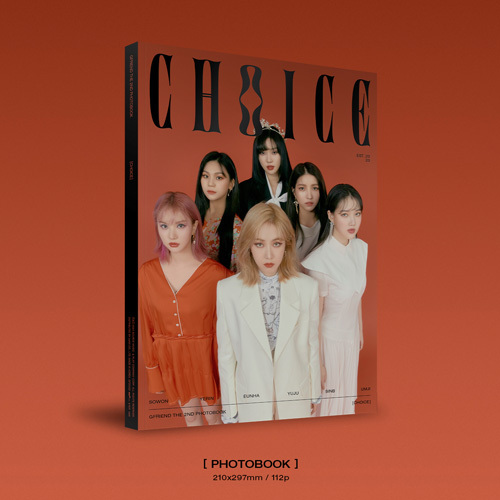 GFRIEND / GFRIEND THE 2nd PHOTOBOOK 「CHOICE」【輸入盤】【+DVD】