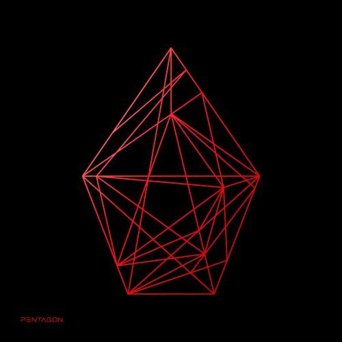 PENTAGON / UNIVERSE : THE BLACK HALL【UPSIDE Ver.】【輸入盤】【CD】