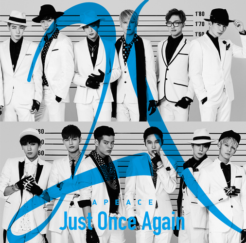 Apeace / Just Once Again【ウォンシク盤】【CD】