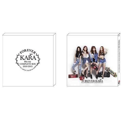 KARA / FOREVER KARA Blu-ray COMPLETE BOX 2010-2015 ~ALL JAPAN TOURS & CLIPS~【Blu-ray】
