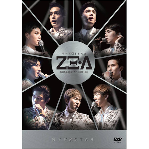 ZE:A / MY K-STAR ZE:A DVD【DVD】【DVD-Audio】