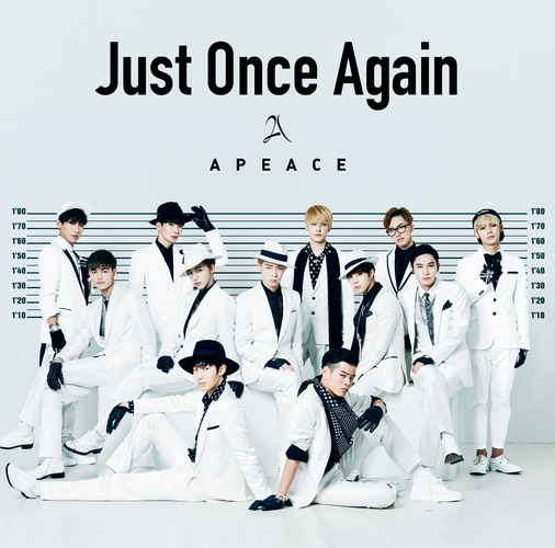 Apeace / Just Once Again【通常盤】【CD MAXI】【+MUSIC CARD】