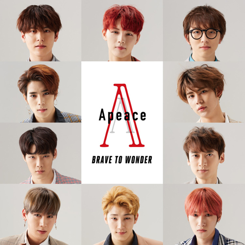 Apeace / BRAVE TO WONDER【通常盤】【CD】