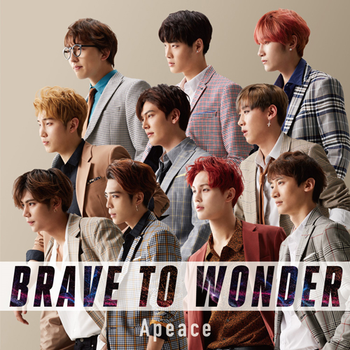 Apeace / BRAVE TO WONDER【初回限定盤】【CD】【+DVD】