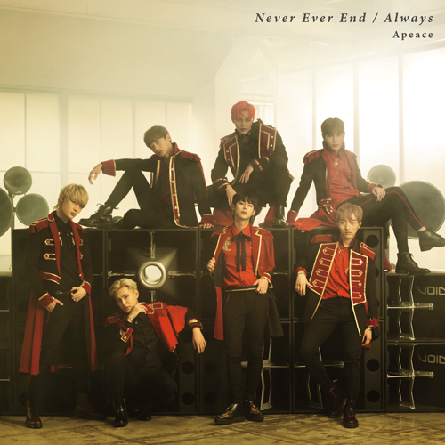 Apeace / Never Ever End / Always【初回限定盤】【CD MAXI】【+DVD】