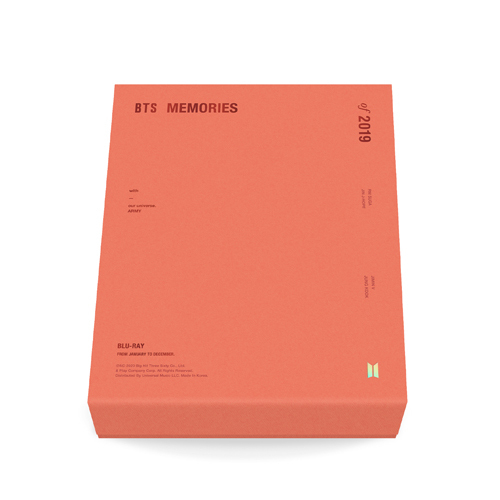 BTS / BTS MEMORIES OF 2019【Blu-ray】