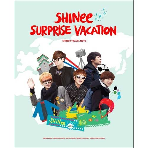 SHINee / SHINEE SURPRISE VACATION TRAVEL NOTE 01(日本限定特典付き)