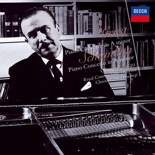 グリーグ&シューマン:ピアノ協奏曲集【CD】 | クラウディオ・アラウ | UNIVERSAL MUSIC STORE