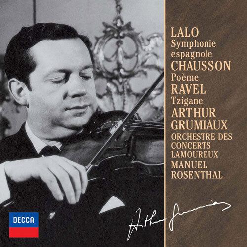 ラロ:スペイン交響曲、ショーソ...