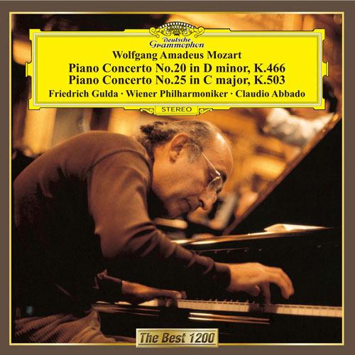 モーツァルト:ピアノ協奏曲第20番&第25番【CD】 | フリードリヒ・グルダ | UNIVERSAL MUSIC STORE