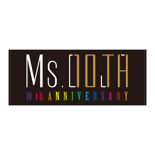 Ms.OOJA / Ms.OOJA 10th ANNIVERSARY フェイスタオル