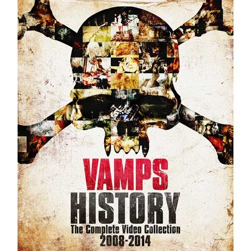 VAMPS / HISTORY-The Complete Video Collection 2008-2014【初回限定盤B】【DVD】【+PHOTOBOOK】