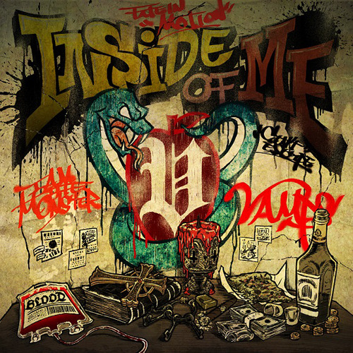 VAMPS / INSIDE OF ME feat. Chris Motionless of Motionless In White【初回限定盤B】【CD MAXI】【+バンダナ】