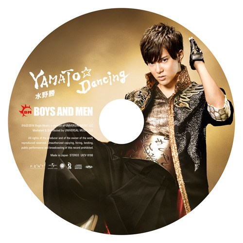 YAMATO☆Dancing【初回限定ピクチャーレーベル盤】【水野勝】