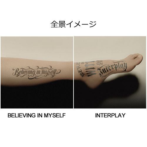 HYDE / BELIEVING IN MYSELF / INTERPLAY【初回限定盤】【CD MAXI】【+DVD】
