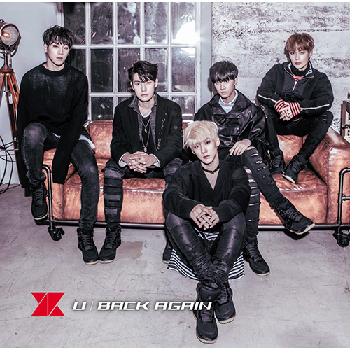 KNK / U / BACK AGAIN【初回限定盤A】【CD MAXI】【+DVD】