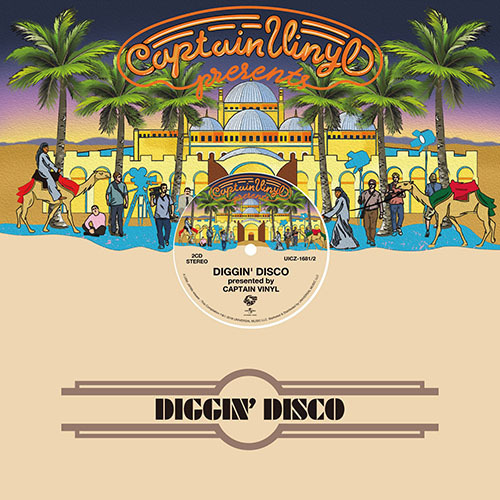 ヴァリアス・アーティスト / DIGGIN' DISCO presented by CAPTAIN VINYL【CD】