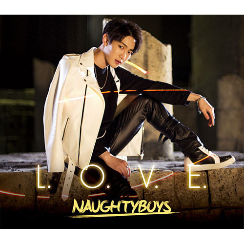 NAUGHTYBOYS / L.O.V.E. 【ヒョビン version】【CD MAXI】