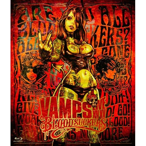 VAMPS / VAMPS LIVE 2015 BLOODSUCKERS【通常盤】【Blu-ray】