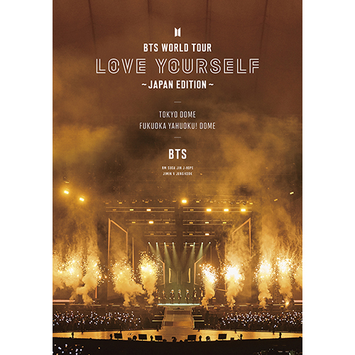 BTS / BTS WORLD TOUR 'LOVE YOURSELF' ~JAPAN EDITION~【通常盤】【Blu-ray】