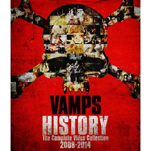 VAMPS / HISTORY-The Complete Video Collection 2008-2014【初回限定盤クラッチバッグ・パッケージ】【Blu-ray】【+GOODS】