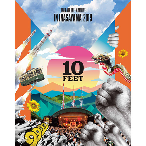10-FEET / 10-FEET OPEN AIR ONE-MAN LIVE IN INASAYAMA 2019【通常盤】【DVD】