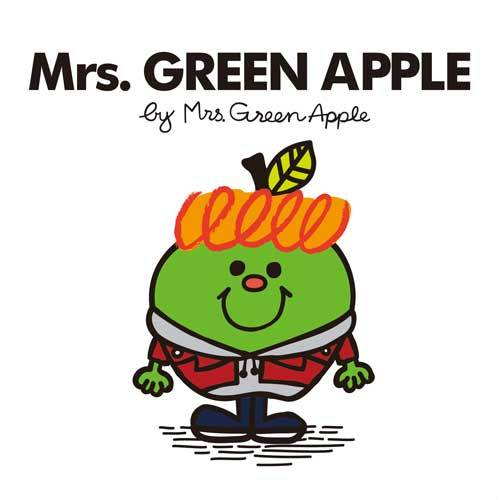 Mrs. GREEN APPLE / Mrs. GREEN APPLE【Picture Book Edition】【CD】【+絵本】
