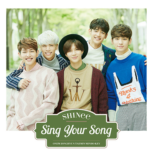 SHINee / Sing Your Song【通常盤】【CD MAXI】