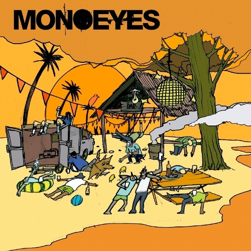 MONOEYES / Get Up E.P.【CD MAXI】