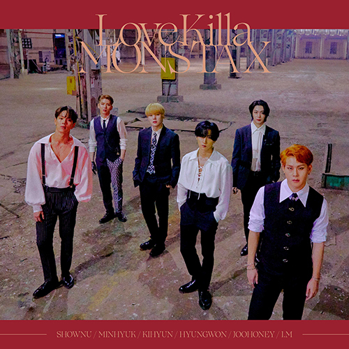 MONSTA X / Love Killa-Japanese ver.-【初回限定盤B】【LPサイズジャケット】【CD MAXI】