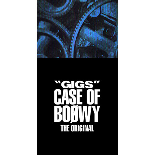 "BOØWY / ""GIGS"" CASE OF BOØWY -THE ORIGINAL-【CD】【+Tシャツ】【+ステッカー】"