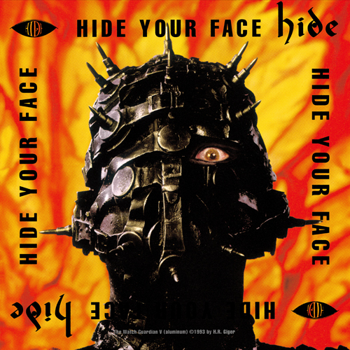 hide / HIDE YOUR FACE【アナログ】