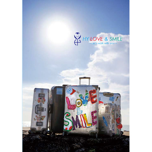 HY / LOVE & SMILE ~Let's walk with you~【通常盤】【Blu-ray】