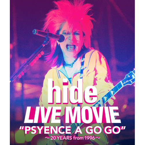 hide / LIVE MOVIE'PSYENCE A GO GO' ~20YEARS from 1996~【Blu-ray】