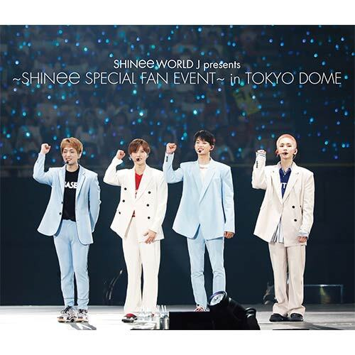 SHINee / SHINee WORLD J presents ~SHINee Special Fan Event~ in TOKYO DOME【通常盤】【Blu-ray】【+PHOTOBOOKLET 16P】