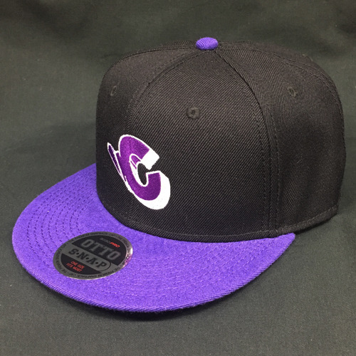田口 淳之介 / Connect Baseball Cap【BLACK×PURPLE】【フリーサイズ】