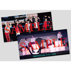 SHINee「SHINee World 2016~D×D×D~ Special Edition in TOKYO DOME」/ワイド・ポストカードセット(2枚組)