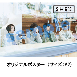 SHE'S / Tragicomedy / ポスター