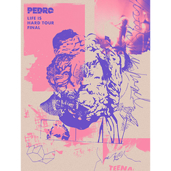 PEDRO / LIFE IS HARD TOUR FINAL / ステッカー