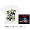 Mrs. GREEN APPLE / In the Morning Tour - LIVE at TOKYO DOME CITY HALL  20161208+MGA Comic T-Shirt【UNIVERSAL MUSIC STORE限定】【受注生産限定商品】【Blu-ray】【+Tシャツ】