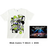 Mrs. GREEN APPLE / In the Morning Tour - LIVE at TOKYO DOME CITY HALL  20161208+MGA Comic T-Shirt【UNIVERSAL MUSIC STORE限定】【受注生産限定商品】【DVD】【+Tシャツ】